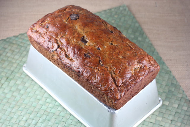 Banana Chocolate Chunk Walnut Loaf - Dahlia Bakery Cookbook