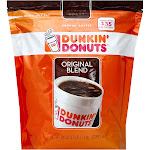 Dunkin Donuts Coffee, Ground, Medium Roast, Original Blend - 40 oz