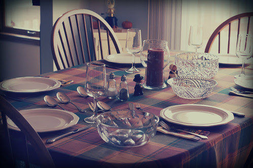 thanksgiving dining table