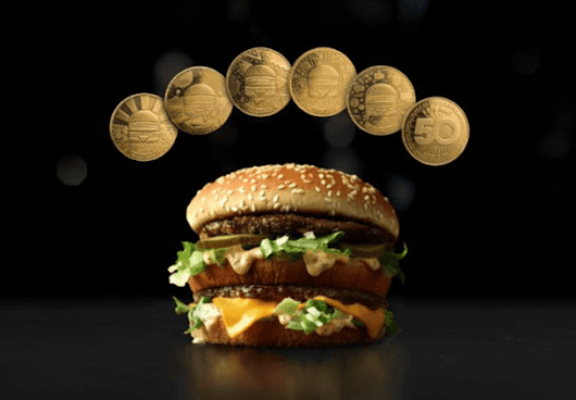 McDonald's: Get free MacCoin - keepsake or redeem for free Big Mac? - Living On The Cheap