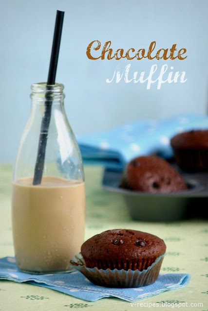Chocolate Muffins & Cold Coffee Milk