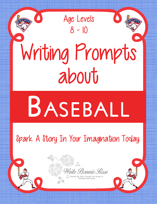 Creative Writing Prompts about Baseball | Homeschool Giveaways