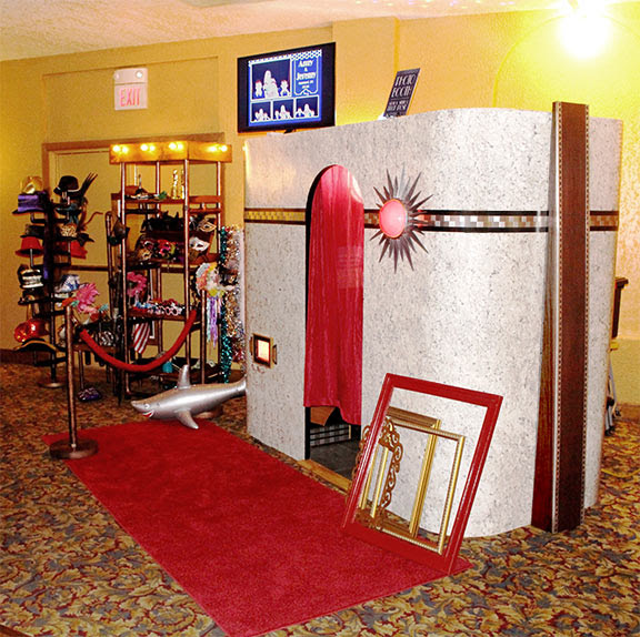 Vintage Art Deco Photo Booth Rentals Kansas City Roaring 20s