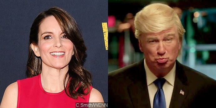 Tina Fey Suggested Alec Baldwin to Play Donald Trump on 'Saturday Night Live'