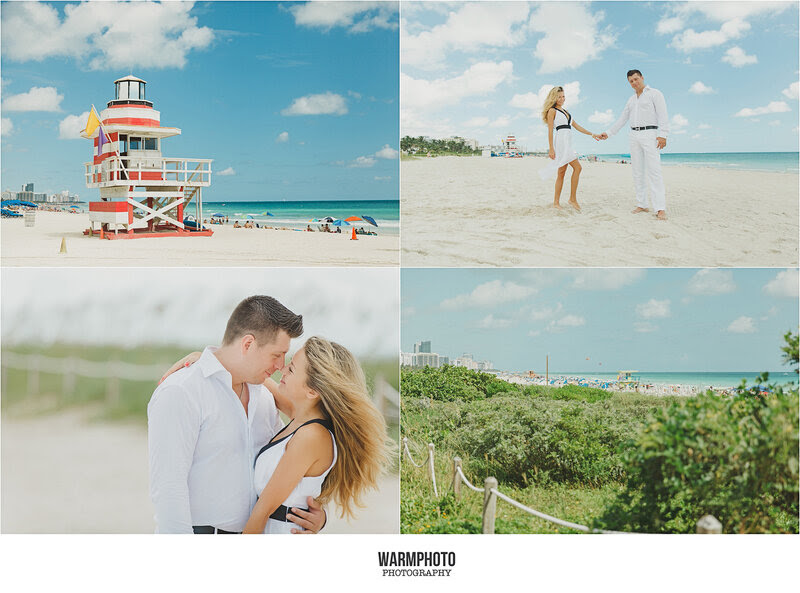 south pointe park miami beach engagement photosession