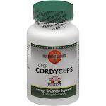 Mushroom Wisdom Cordyceps, Super, Vegetarian Tablets - 120 tablets