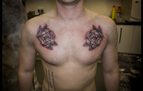 Black Rose Tattoos For Men On Chest Tattoos Designs Ideas