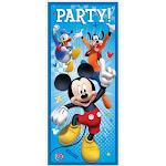 Plastic Mickey Mouse Door Poster