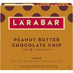 Larabar Chocolate Chip, Peanut Butter - 5 pack, 1.6 oz bars
