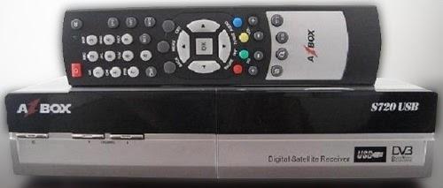 AZBOX S720B USB - ARQUIVOS DE ATUALIZAÇÃO
