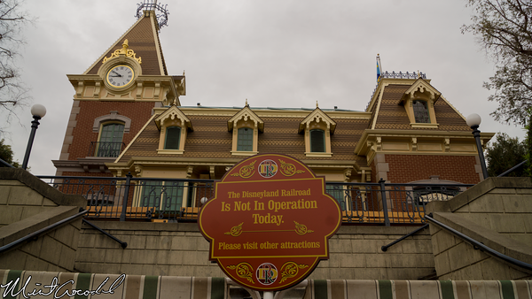 Disneyland Resort, Disneyland, Main Street U.S.A., Train, Railroad, Refurbishment, Refurbish, Refurb