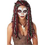 California Costumes Voodoo Priestess Adult Wig