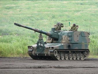 Гаубица Type 99. Фото пользователя Demon Boil с сайта flickr.com