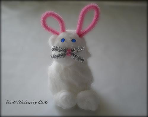 Cotton Bud Bunny