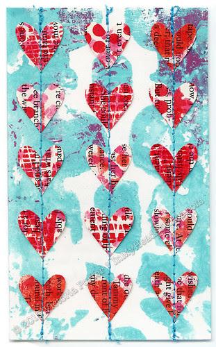 """""""Heart Garland"""" ICAD : 7-5-13"""