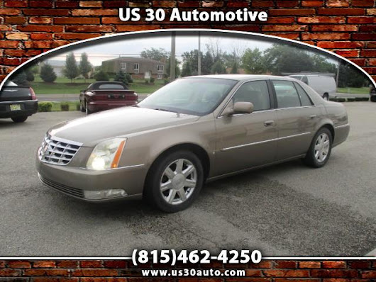 Used 2007 Cadillac DTS Sedan for Sale in New Lenox IL 60451 US 30 Auto Sales