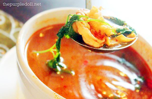 Tom Yum - Hot and Sour Thai Soup (P190)