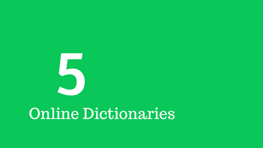 5 Online Dictionaries for School and College Students | Student Lance | Blog