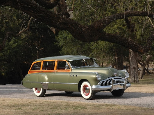 Website For Cars — frenchcurious: Buick Super Estate Wagon 1949 -...