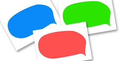 Editable Speech Bubbles (Multicolour) - speech bubble, multicolour ...