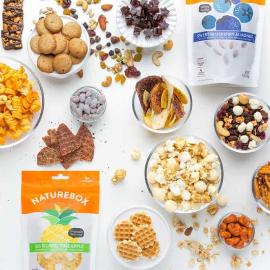 Enjoy NatureBox with Monthly Snack Deliveries - Giveaway | Parenting