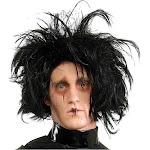 Rubies Costume Adult Edward Scissorhands Wig, Black, OS
