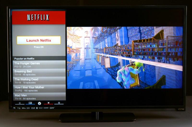 VIZIO E320i-A0 32-Inch 720p 60Hz LED Smart HDTV
