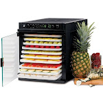 TriBest Sedona Express Food Dehydrator with BPAFree Trays SDEP6280B