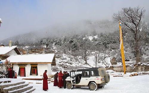 Waerzhai (Waerdje) temple, Muli county, Sichuan