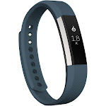 Zodaca for Fitbit Alta, Small S Size TPU Rubber Wristband Replacement Sports Watch Wrist Band Strap, Dark Gray
