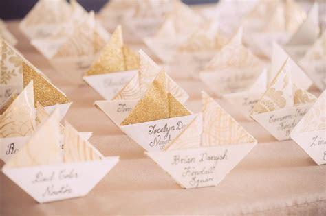 Unique Wedding Escort Card & Place Card Ideas