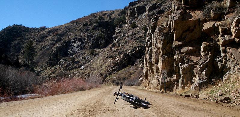 Starting up Waterton Canyon