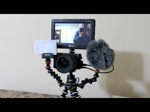 Is This the Ultimate Vlogging Rig? Joby Gorillapod Rig Upgrade + Aputure AL-M9 Light