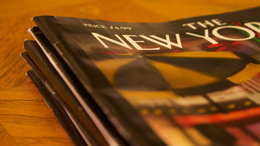 You can read 'The New Yorker' for free right now