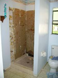 retile shower Pictures and Photos