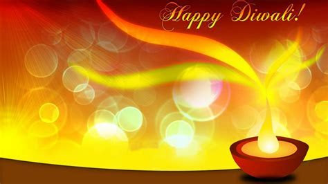 Happy Diwali Religious Background For Diwali Festival With