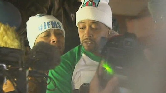 Did Michael Brown's stepfather incite a riot in Ferguson?