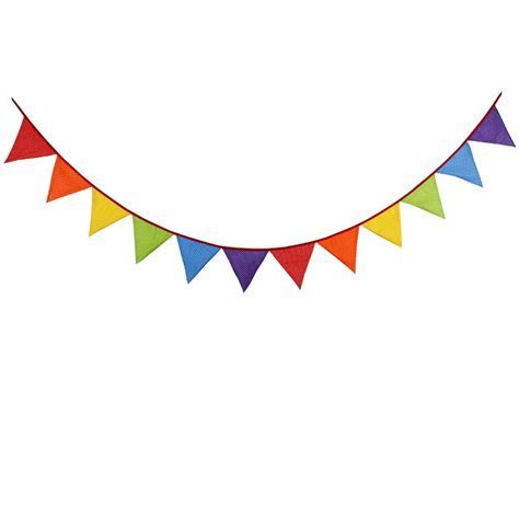 2018 New 3.2M 12flags Outdoor Rainbow Bunting Hot Lovely