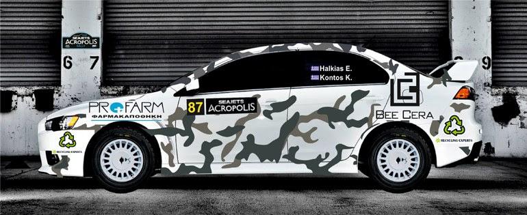 Oι Θέμης Χαλκιάς-Κωνσταντίνος Κόντος θα συμμετάσχουν με Mitsubishi Evolution