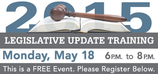 2015 Legislative Update Training