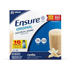 Ensure Original Nutrition Shake, Vanilla - 16 pack, 8 fl oz bottles
