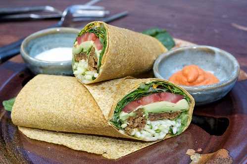 raw food wrap of the day