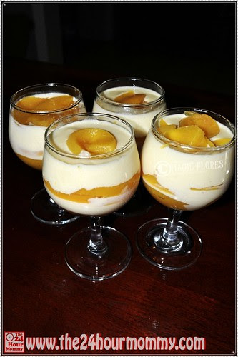 Bavarian Peaches and Cream