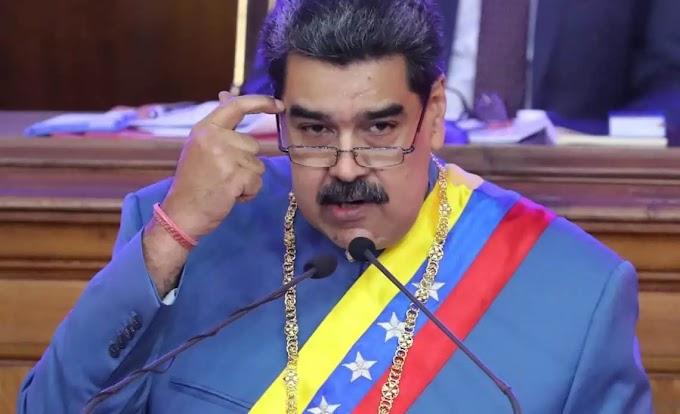 """MADURO DICE QUE VENEZUELA ESTUVO 14 MESES """"SIN VENDER UNA GOTA DE PETRÓLEO"""""""