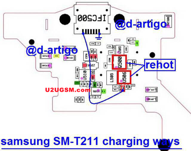 Samsung Galaxy Tab 3 7.0 T211 Usb Charging Problem Solution Jumper Ways