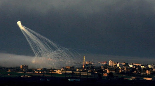 Israel started using poisonous gas in Gaza