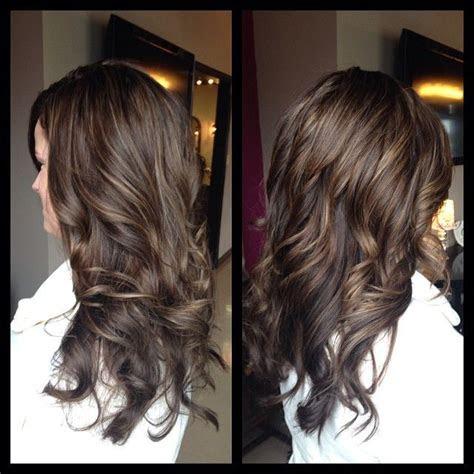 image result  chocolate hair  auburn lowlights