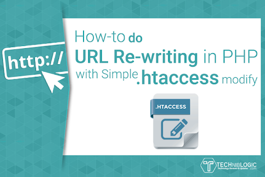 How to do URL Re-writing in PHP with Simple htaccess Modify