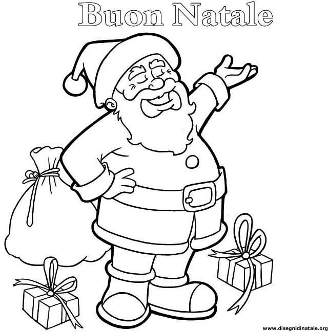 Immagine Di Babbo Natale Da Stampare Campobassopellicce
