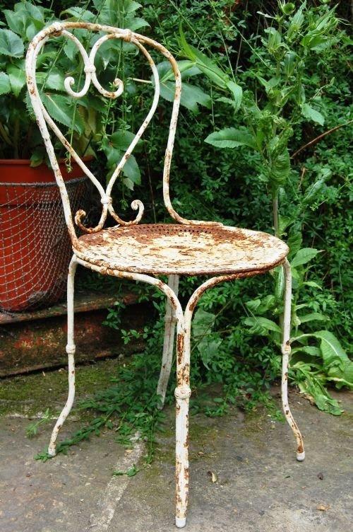 Antique Garden Furniture at Cottage Antiques - Stock
